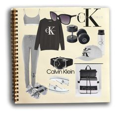 """Calvin Is So Sporty"" by forgottenmelody on Polyvore featuring Topshop and Calvin Klein"