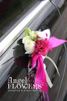 Оформление свадебного автомобиля живыми цветами. Wedding Coral, Wedding Car Decorations, Banquet, Wedding Planner, Marriage, Bride, Flowers, House, Wedding Bouquets