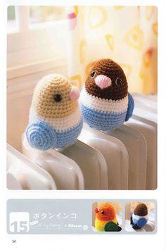 FREE Birds Amigurumi Crochet Pattern and Tutorial (scroll down a bit)