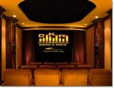 Malibu home theaters - traditional - media room - los angeles - DSI Entertainment Systems Home Theater Room Design, At Home Movie Theater, Home Theater Rooms, Home Theater Seating, Theatre Design, Theater Seats, Home Theaters, Small Media Rooms, Small Rooms