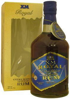 XM Royal, Extra Mature Demerara Rum, Guyana