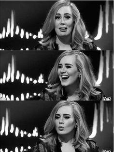 Adele ... she's so funny <3 love her <3