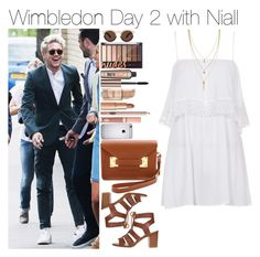 """""""Wimbledon Day 2 with Niall"""" by vane-abreu ❤ liked on Polyvore featuring Topshop, Dorothy Perkins, Sophie Hulme, Dolce Vita, Maybelline, Benefit, Illesteva and Cole Haan"""