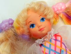 Vintage Lady Lovely Locks Doll from 1986 by JanellesVintageShop, $16.00 Lady Lovely Locks, Childhood Toys, Vintage Ladies, Crochet Necklace, Cartoon, Dolls, Trending Outfits, Unique Jewelry, Handmade Gifts