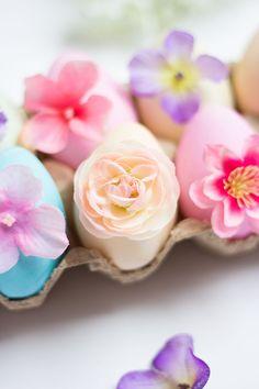 Easter Egg Week: Flower Eggs