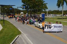 College of Education - Homecoming Parade 2014 #FIU #FIUCollegeofEdu