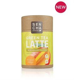 DHC SENCHA Naturals Green Tea Latte Tropical Mango