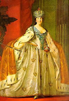 Beaux Mondes Designs: Catherine The Great's Coronation