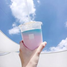 Image about pretty in aesthetic vol. Blue Aesthetic Pastel, Sky Aesthetic, Aesthetic Food, Aesthetic Backgrounds, Aesthetic Wallpapers, Aomine Kuroko, Japanese Aesthetic, Korean Aesthetic, Milk Tea