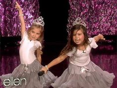 LoVe these 2 CuTieS ~ sophia grace and rosie, cutest little girls of my life