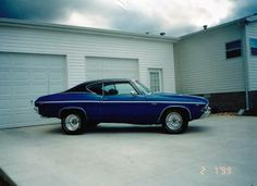 1969 Chevelle SS 396, bored .60, 4 speed Muncie transmission, 373 posi rearend, comp. headers and flowmaster mufflers.