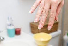 Fake nails come in a variety of lengths, colors and designs, allowing people to drastically change the look of their hands. Unfortunately, fake nails can also damage the natural nails underneath due to the chemicals in the primer and adhesives used to apply them. These chemicals make the natural nails thin, weak, dry, and prone to splits and...