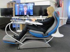 Nice workstation - who needs a regular old  desk?