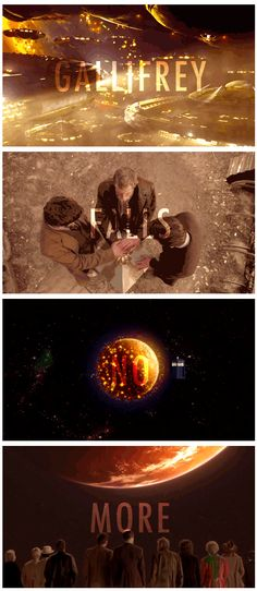 """""""No you see, that's where everyone's wrong. It's all one title. Gallifrey falls...no more."""