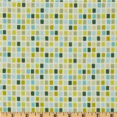 Heather Bailey Garden District City Grid Sateen Blue  On Sale: $11.18 per Yard. 	Sale Ends: 9/12/2012