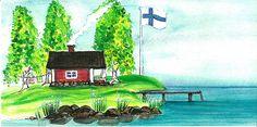 Finnish Post Sauna - The sauna is the poor man's pharmacy Native Place, Finnish Sauna, Saunas, Bath Time, Pharmacy, Bad, Felting, Finland, Summer Fun