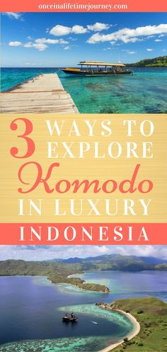 Komodo 3 ways: from a taste of local luxury to the most extravagant vacation of a lifetime. Pick a way to explore this amazing part of Indonesia. Best Travel Guides, Travel Tips, Travel Advice, Budget Travel, Travel Ideas, Komodo Dragons, Asia Continent, Tokyo Japan Travel, Komodo Island