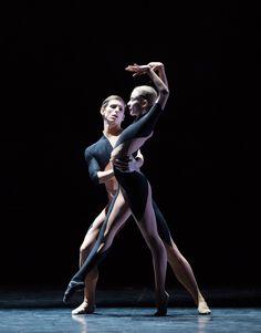 Ballet's Marc Moreau and Léonore Baulac.