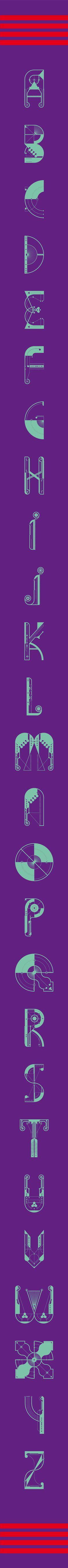 Typography By: Jorrit van Rijt | Square Inch Design Blog