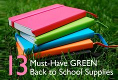 13 Eco-Friendly Back-To-School Supplies for a Sustainable School Year | Inhabitat - Sustainable Design Innovation, Eco Architecture, Green Building  #school #nrdcbiogems