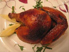 Tonight's Christmas Dinner recipe - juicy cornish game hens