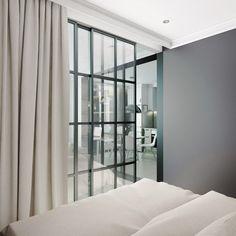 Однокомнатная квартира в скандинавском стиле. Спальня
