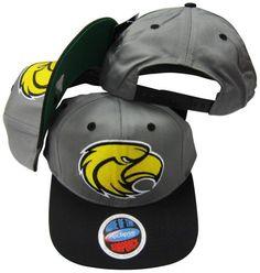 Southern Mississippi Golden Eagles Grey Black Two Tone Plastic Snapback  Adjustable Plastic Snap Back Hat   Cap by NCAA.  29.99. Adjustable plastic  snapback. 5d6765f18549