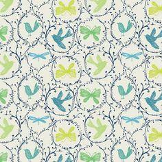 Bethan Janine Westran-birds and butterflies-surface-pattern-design; © PrintPaperCloth 2012