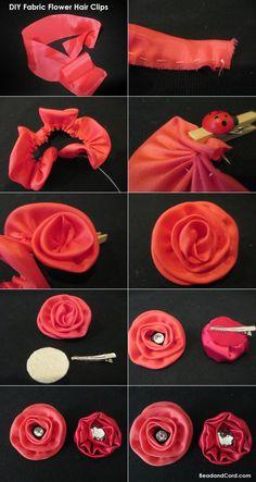Flor - Clip para cabello