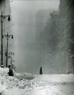 Andreas Feininger - weather to be thoughtful in...
