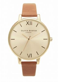 Olivia Burton watch - tan