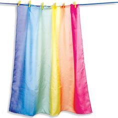 #mwsfaire2014 Sarah's Silks Playsilk - Rainbow - and many more to choose from!