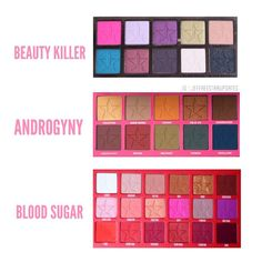 """1,868 Likes, 41 Comments - Jeffree Star Updates™ (@jeffreestarupdates) on Instagram: """"Favorite palette??!? The Blood Sugar palette absolutely blew me away but everything about the…"""""""