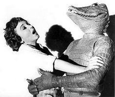 The Alligator Man (1959). Paul Webster stars as a man under the influence of alligator hormones.