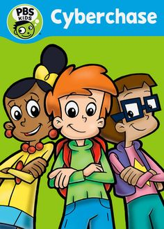 """Cyberchase"" - 1 Season (2006) :: Via New On Netflix USA  Three brainiacs go on a series of adventures in Cyberspace -- and learn new math concepts -- as they thwart the plots of the villainous Hacker."