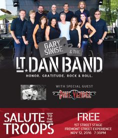 GARY SINISE & THE LT.  DAN BAND...FREMONT ST
