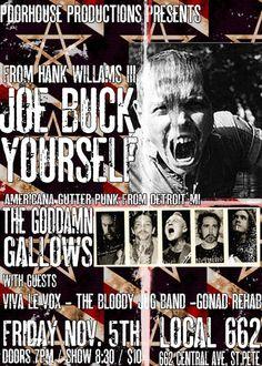 JOE BUCK / GODDAMN GALLOWS