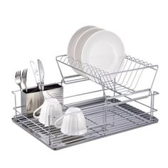 "Free 2-day shipping on qualified orders over $35. Buy Better Chef 4 Piece 18.5"" Dish Drying Rack Set at Walmart.com"
