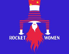 "Check out new work on my @Behance portfolio: ""Rocket women"" http://be.net/gallery/45012309/Rocket-women"
