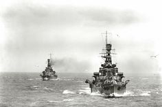 Battlecruisers HMS Renown and HMS Repulse, 1926