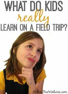 Field trips are so educational! Or are they...? #humor #kids