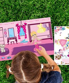Doll & Pet Travel Peel & Play Decal Set by Mona MELisa Designs #zulily #zulilyfinds