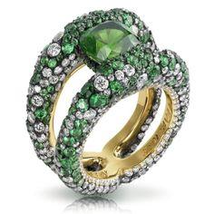 Faberge Kaledoscope Ring. Platinum and mixed gemstones.300 x 300 | 68.3 KB | indulgy.com