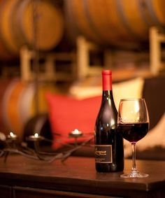 Relaxing in the Barrel Room every weekend!