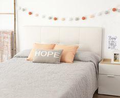 Decora dormitorio low cost estilo nórdico vintage Kenay Home   Kenay Home