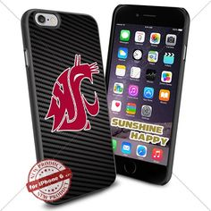 Washington State Cougars, University NCAA Sunshine#2432 Cool iPhone 6 - 4.7 Inch Smartphone Case Cover Collector iphone TPU Rubber Case Black SUNSHINE-HAPPY http://www.amazon.com/dp/B011SHTODW/ref=cm_sw_r_pi_dp_aBI.vb0EZS53F