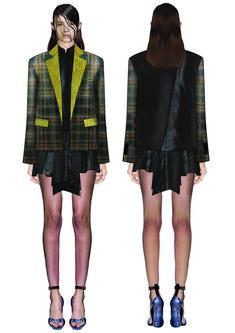 madalina buzas on Behance Ma Degree, Behance, Punk, Fashion Design, Behavior
