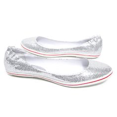 Steve Madden 'Candin' Flat (Silver Glitter) « ShoeAdd.com – More Shoes For You Every Day