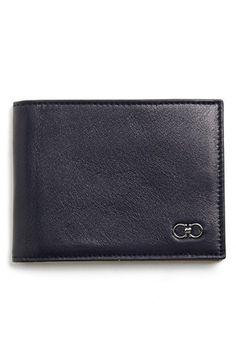 f406dcbf17d Salvatore Ferragamo Bifold Leather Wallet