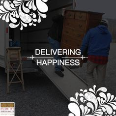 We DELIVER HAPPINESS at your doorsteps :) :)   Though it sounds unbelievable but we do deliver happiness in small packages of solid wood pocket friendly classic furniture. And cherry on the cake appears when we with proud shout that we deliver ECO - FRIENDLY furniture.   Happiness at your doorstep is just a click away. ⌚  http://bit.ly/HBS_Home